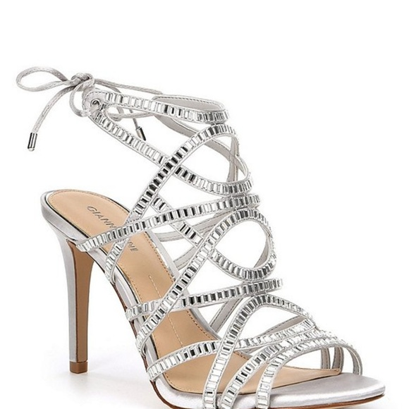 9ade6e95cfef Gianni Bini Shoes - 💥Gianni Bini Kellzie Satin Jeweled Dress Sandals